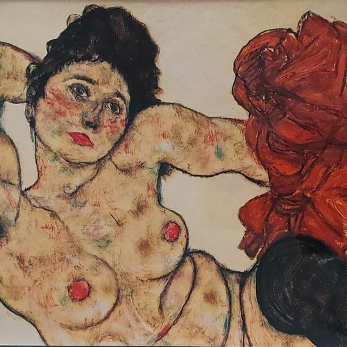 EGON SCHIELE Jane Kalir, Egon Schiele. • Oeuvres complètes. Catalogue raisonné, …