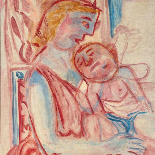 PIERRE TAL COAT (1905 1985) • Maternité, 1943 Huile sur toile, monogrammée en ba…