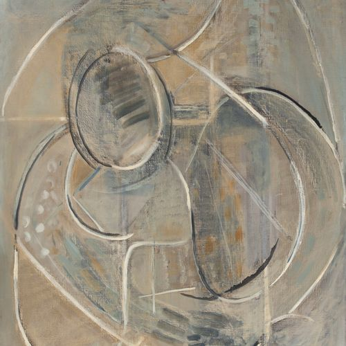 PIERRE TAL COAT (1905 1985) • Remous dans l'eau, 1946 Huile sur toile, monogramm…