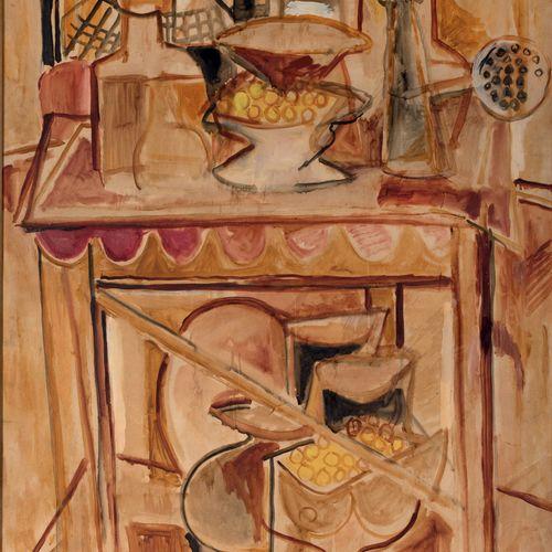 PIERRE TAL COAT (1905 1985) • Nature morte à la coupe, 1941 Huile sur toile, sig…