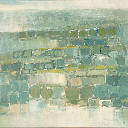 Marc JANSON (1930 ) • Polders II Huile sur toile, signée en bas à droite, contre…