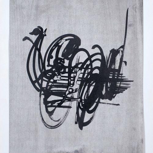 Ladislas KIJNO (1921 2012) • Composition,1960 Crayons de couleurs sur papier, si…