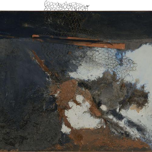 REBEYROLLE Paul (1926 2005) «La belle» technique mixte sur toile signée en haut …