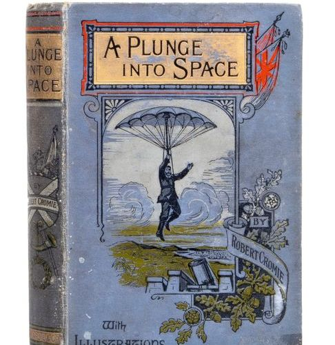 A plunge into Space by Robert Cromie. London and New York, Frederic Warne and Co…