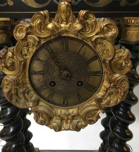 Gantry clock  End of the 19th century  ref 36 Sold as is