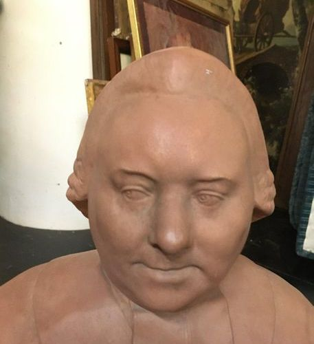 Bust  H: 52 cm  Sold as is LOT IN STORAGE: CONDITION OF PARTICULAR DELIVERY