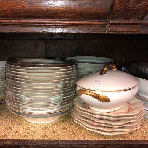 Porcelain service part Sold as is