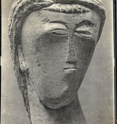Constantin BRANCUSI (1876 1957) First (direct stone), 1908 Silver print (c. 1920…