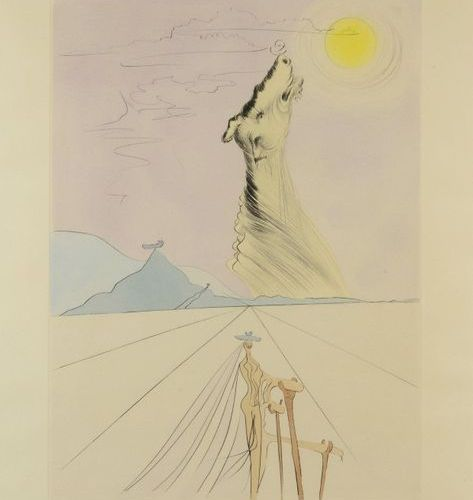 Salvador DALI (1904 1989) Benjamin The Twelve Tribes of Israel, 1973 Print signe…