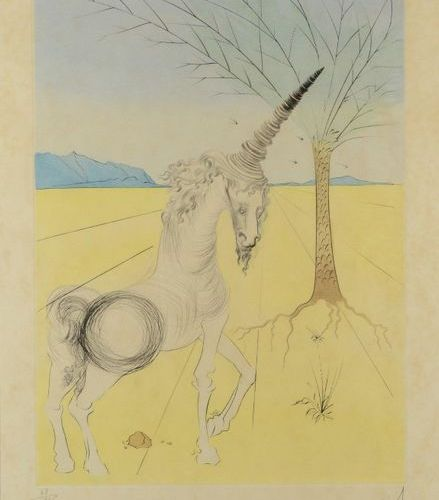 Salvador DALI (1904 1989) Joseph The Twelve Tribes of Israel, 1973 Print signed …