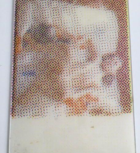 Alain JACQUET (1939 2008) Figure Printing on Plexiglas. NYC 67, signed lower lef…