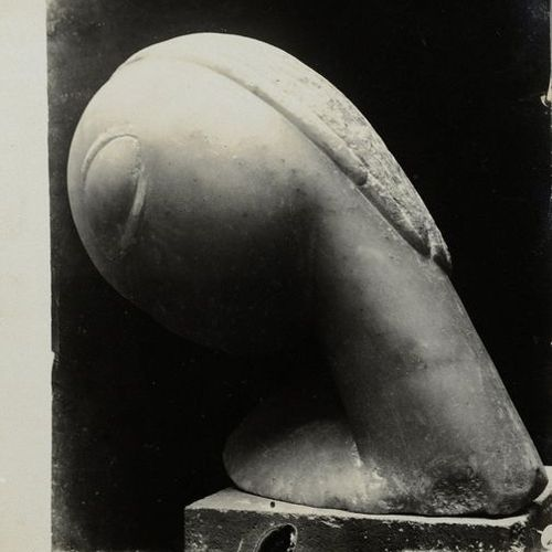 Constantin BRANCUSI (1876 1957) Narcissus (marble), 1909 Silver print (c. 1920).…