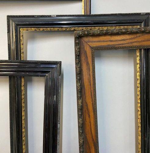 Set of 4 chopsticks Napoleon III  48 x 60 x 3 cm  39 x 48 x 5.5 cm  33.5 x 41.5 …