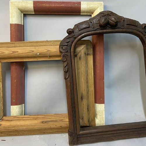 Set of 3 decorative frames  45 x 30.5 x 5 cm  30 x 23 x 9 cm  38 x 30 x 5 cm  (S…