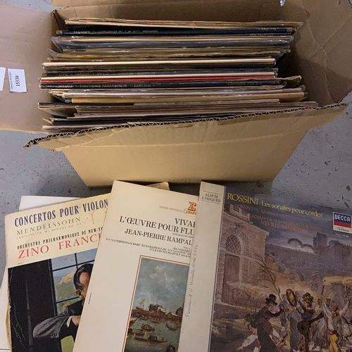 Classical vinyl records : ROSSINI, Prokofiev, Puccini, Mozart, ...Etc...  (sold …