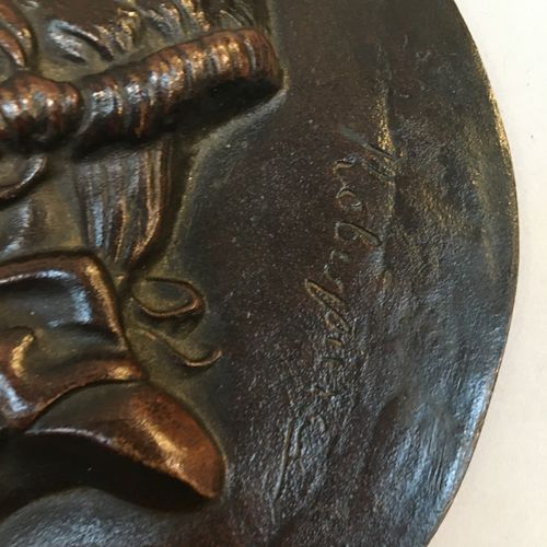 David d'Angers  Medallion  Diam : 15 cm