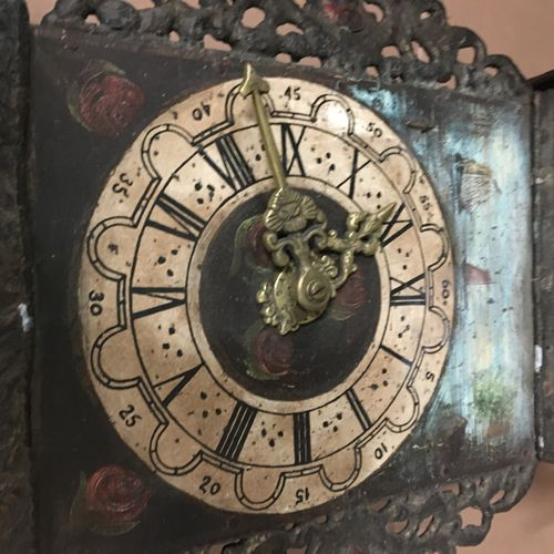 Dutch style clock Sold as is