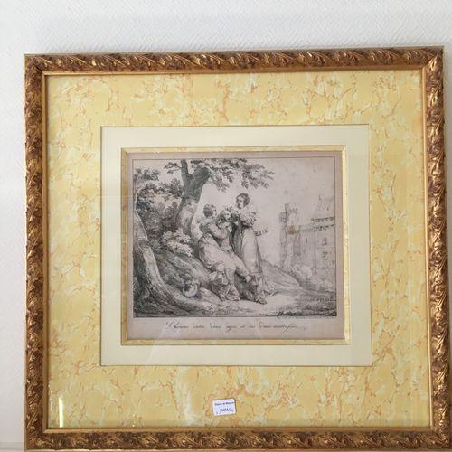 Trois gravures  25,5 x 21 cm