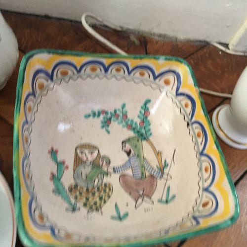 Ensemble de céramique et faience  Vendu en l'état