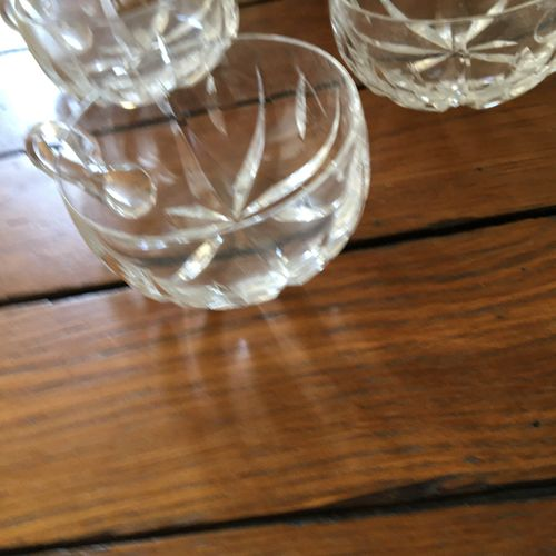Lot de verre  Vendu en l'état  Accidents