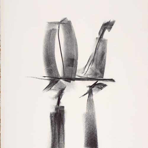 ECOLE MODERNE  La Liberté de réussir (portrait de Pierre Dreyfus)  Lithographie …