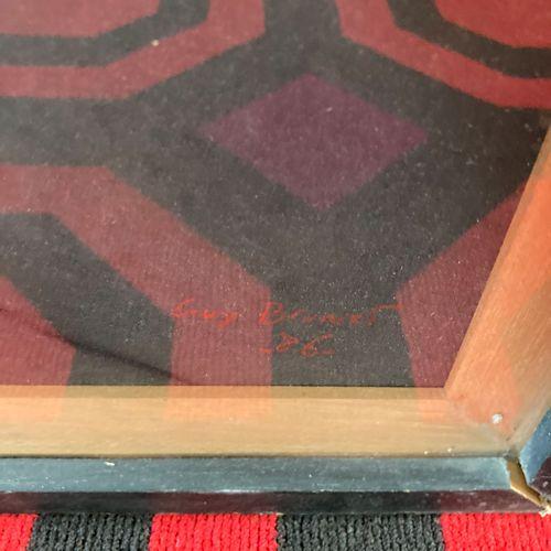 Guy BRUNET  Trois pastels sur papier encadrés sur le même montage  dimensions to…