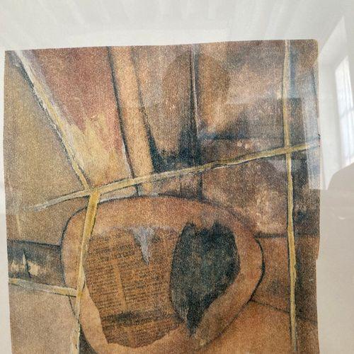 J. Faugeroux (Né en 1950)  Sans titre  Sérigraphie, signée en bas à droite et nu…