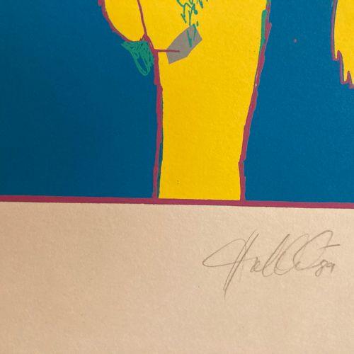 Claude Gérard (né en 1932)  Meeting on the fire  Lithographie signée en bas à dr…