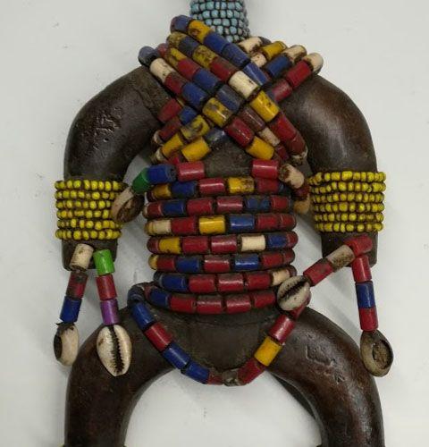 Poupée Namji Soudan, Cameroun Afrique. Poupée Namji (Cameroun). Les poupées Namj…
