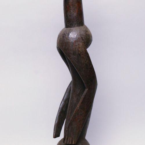 Afrique. Importante statue Mumuyé (Nigéria). Dimensions: Hauteur approx. H. : 84…