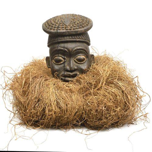 巴蒙(喀麦隆) Heaume Tu Ngünga Wood & Rafia 20th 第二期