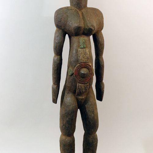 TIV雕像,非洲尼日利亚。一个具有完美比例的特殊TIV雕像。高89厘米。(非洲、非洲艺术、文明和民族群体)。)