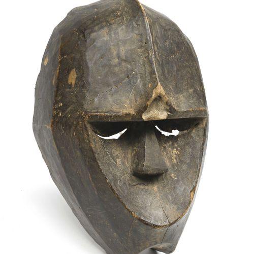 Kwélé (Congo) Masque gorille anthropomorphe Bois 20ème