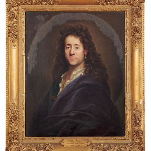 École FRANÇAISE du début du XVIIIe siècle Portrait of a man with an earring Oil …