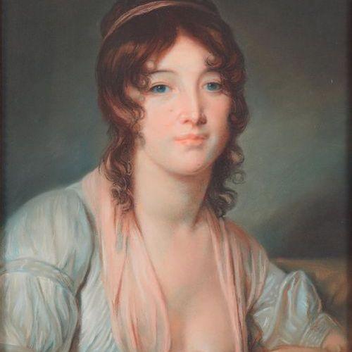 École Française de la seconde moitié du XIXe siècle Portrait of Nicolas Pierre B…