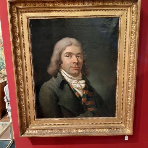 Gerard VAN DER PUYL (1750 1824) Portrait of a man Portrait of a woman Two oils o…