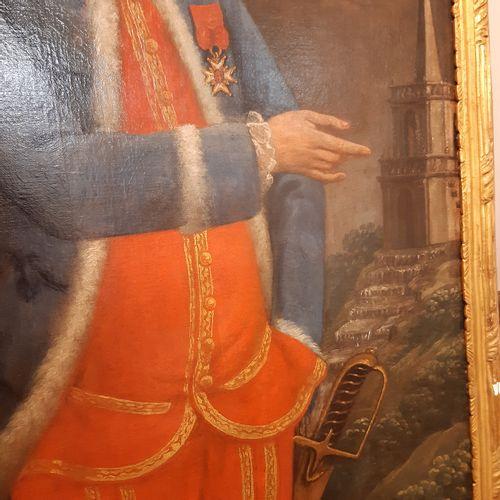 École FRANÇAISE de la seconde moitié du XVIIIe siècle Portrait of a soldier Oil …