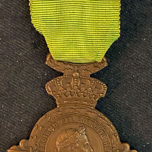 """Spain Carlism, Medal of the battles of Vizcaya known as """"Somorrostro"""", 1874, in …"""
