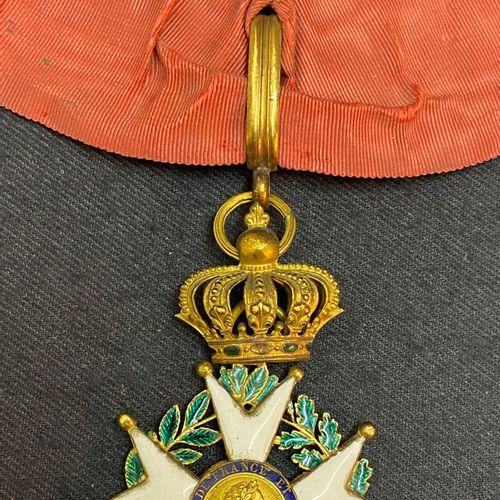 Order of the Legion of Honor, Restoration, enamelled gold officer's jewel, centr…