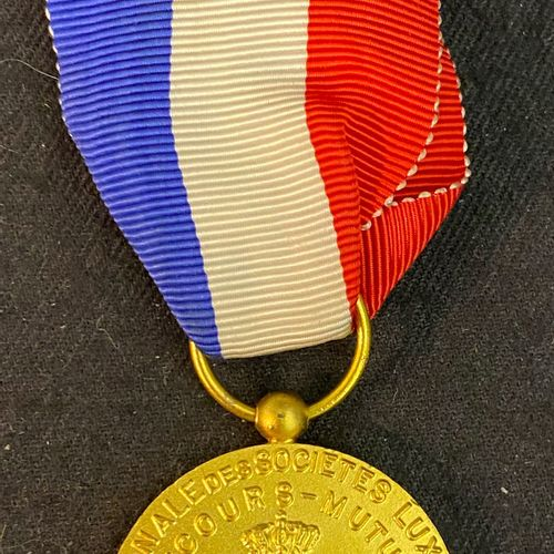 Luxembourg Medal of the Fédération nationale des associations de secours mutuels…