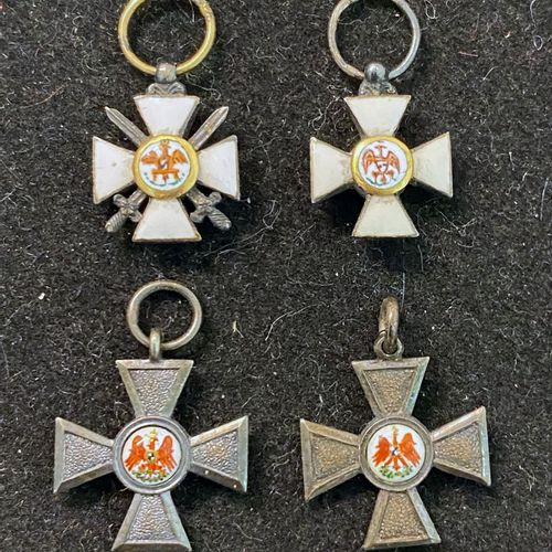 Germany, Kingdom of Prussia Order of the Red Eagle, founded in 1705, set of four…