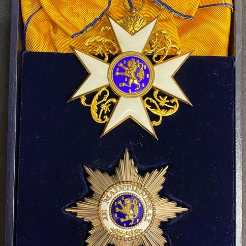 Luxembourg Order of the Golden Lion of the House of Nassau, founded in 1858, com…