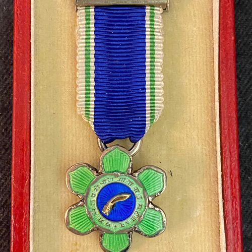 Nepal Order of Tri Shakti Patta (of the Three Divine Powers), founded in 1937, s…
