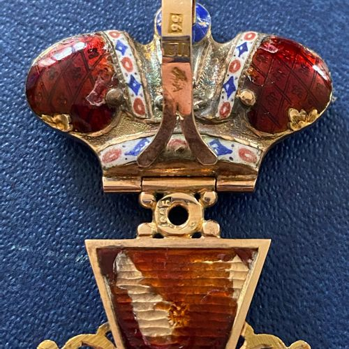 Russia Order of St. Anne, founded 1735, modified in 1797, 2nd class cross with i…