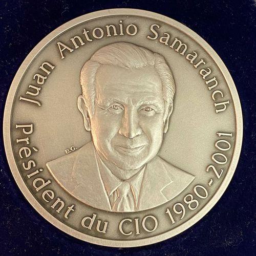 Olympism Juan Antonio Samaranch, IOC President 1980 2001, commemorative medal in…