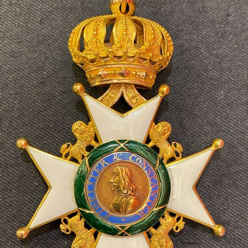 Germany, Duchy of Saxony Order of the House of Ernestine, founded in 1833, Comma…