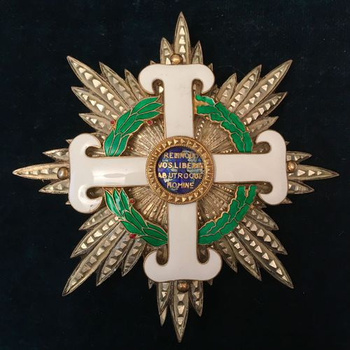 Italy, Republic of San Marino Equestrian Order of San Marino, founded in 1859, d…