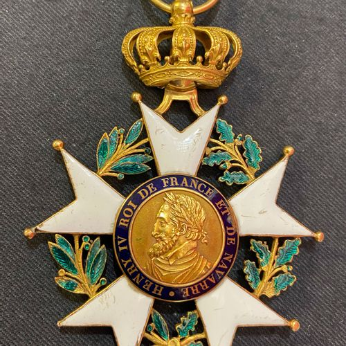 Order of the Legion of Honor First Empire / Restoration Jewel of great eagle of …