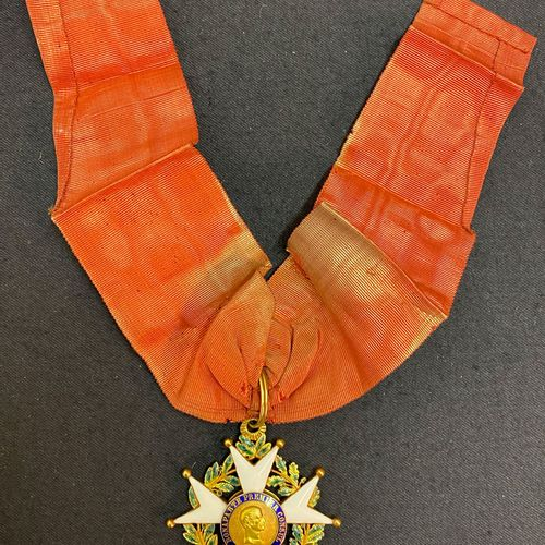 Order of the Legion of Honour, II Republic, enamelled gold commander's jewel, th…