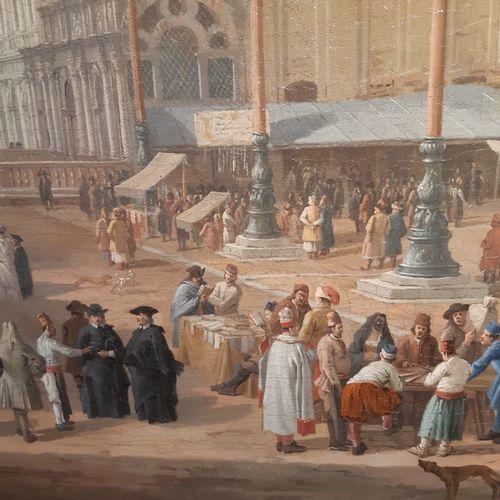 Lucas CARLEVARIJS (Udine 1663 Venise 1730) Vue de la place Saint Marc et de la P…